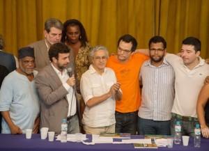 Artistas na Assessoria Brasileira de Imprensa