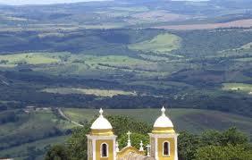vista de lá de cima, a matriz do centro de São Thomé